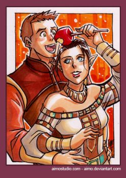PSC - Alistair and Tabris by aimo