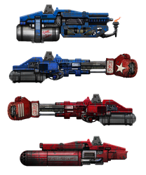 Megabot stretchgoal weapons by flyingdebris