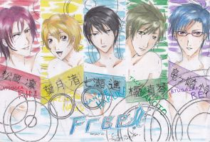 Free! - The Swimmers (Reupload) by RyourieGKomuro03