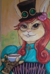Millicent Steambunny by BlossomBrooks