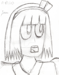(DRAW) Just a Youmu by Thunderblade2001