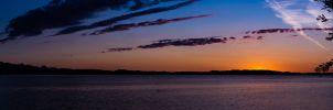 Chiemsee blue hour by Akxiv