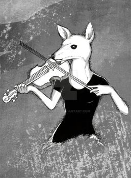 The Violinist by Rimfrost