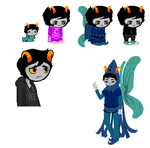 Commission- 75 point custom fantroll by ucccoffee