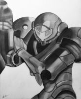 Samus Aran by shadwgrl
