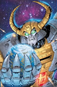 Unicron 2 by BlondTheColorist
