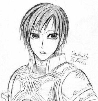 My Charactor again by deathsicklewest