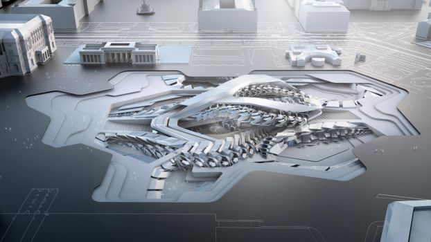 Speculative Vienna City of Future Innovation by Mihaio
