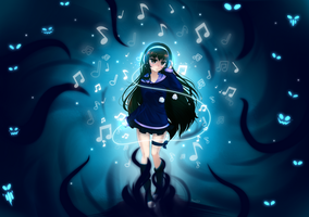 The darkness of the music by Jianaiko