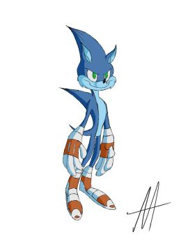 Sonic the Hedgehog by AA-Artwork