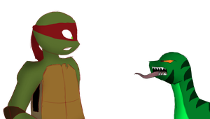 Raph meets angry Najaah   AT by TammyWolfGirl