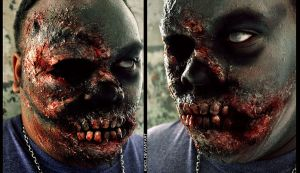 I've Got Toofs: Zombie Makeup by Khdd