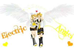 Electric Angel Rin Len by jazmia2000