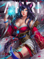 Ahri by manusia-no-31