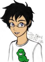 HS: John Egbert sketch by artisticTaurean