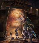 At the entrance of Pooka's underground village by GoldenBoden