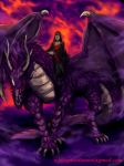 The Witch and Dragon by whiteguardian