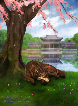 Meditation by wolf-minori