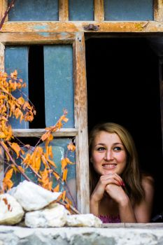 A Smile and A Window by Glazier213