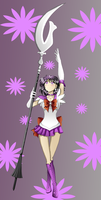 Sailor Saturn Collab by GreenTeaDeer