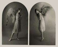 Angel Diptych by DustinPanzino