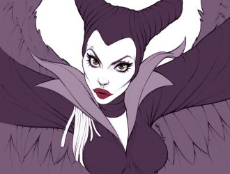 Angelina Jolie - Maleficent by andersonmahanski
