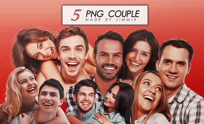 COUPLE PNG PACK // #5 PNG PHOTO by JIMMIXSTYKES