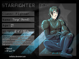 STARFIGHTER-RP FIGHTER: FORGE by Meibatsu