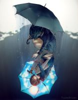Rain on My Sunshine by yuumei