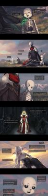 The Ancient War Chapter 8 -Sorrow- by Virzoeve