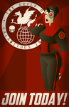 Guild of Calamitous Intent Recruitment Poster by LaggyCreations