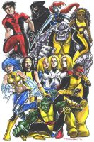 Young X-Men by olybear