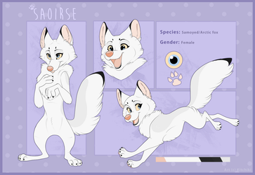 Saoirse-Reference sheet commission by Kitchiki