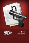 Shoot 'Em Up Icons+Wallpaper by mgilchuk