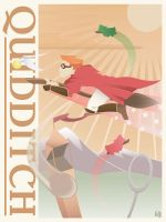 Vintage Quidditch by outlawink