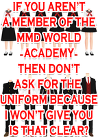 MMD-WA Uniforms Uptaded by kaahgome
