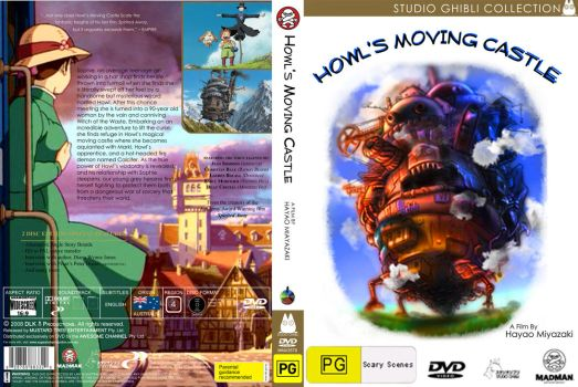 NEW Howl's Moving Castle DVD by Deborahs-Conscience