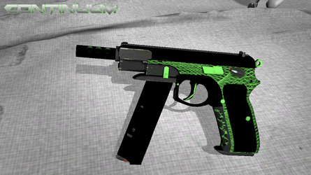 CZ75-Auto (Continuum) In-Game by RusticDusty