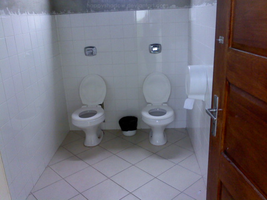 double toilet by 5019