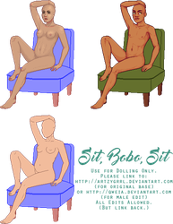 We Need More Sitting Poses by Artzygrrl