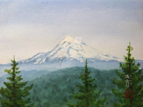 Mt. Hood by drawing425