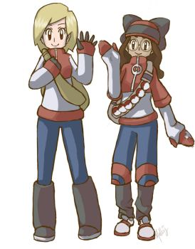 Pokemon Trainers by Mallory77
