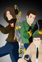 The supernatural - Ghostbuster by ArchXAngel20