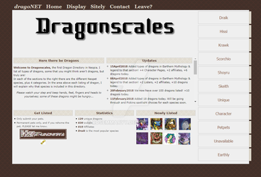 Dragonscales - a Neopian Dragon Directory by rosemmaryy