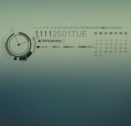 Sinister V.2.0 for Rainmeter by natosaurus