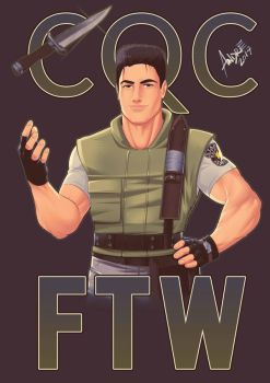 ChrisCQC FTW by alredfield