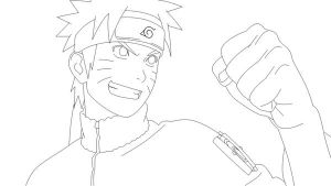 Naruto Lines by Warbaaz1411
