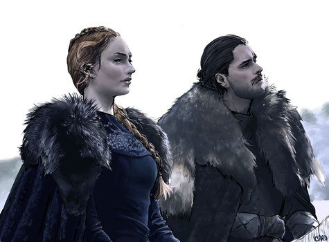 [Game of Thrones] take back winterfell by a-zebra-was-here