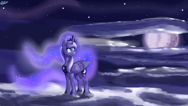 Basking in the Moonlight by Sintakhra