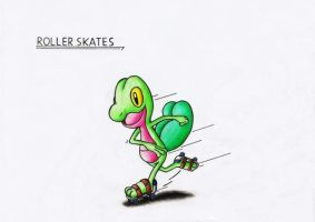 ROLLER SKATES - Treecko by GTS257-CT